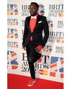will.i.am in red and black