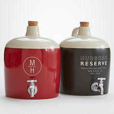 Ceramic Liquor Decanter
