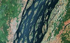 Braided River Systems   Patterns of Nature