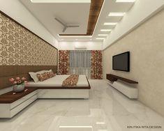 Master Bedroom Design: 3 on Behance Pvc Ceiling Design, Interior Ceiling Design, Ceiling Design Living Room, Bedroom False Ceiling Design, False Ceiling For Hall, Kitchen Ceiling Design, Bedroom Pop Design, Luxury Bedroom Design, Bedroom Furniture Design
