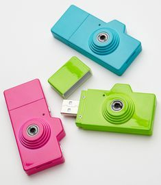 How wonderful is this?! Mini camera with video capability, takes great shots and slips right into your pocket (: