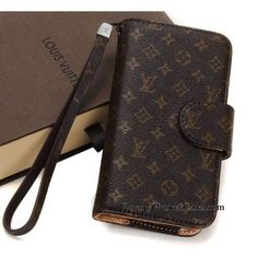 Luxury Celebrities Style Fashion Real Louis Vuitton iPhone 6 Cases | iPhone 6 Plus Cases Brown Classic
