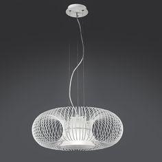 #Gabbia. Questa lampada di design rappresentano una soluzione ideale per arredare interni moderni di ogni genere. By Arte&Colore. [www.viadurini.it]
