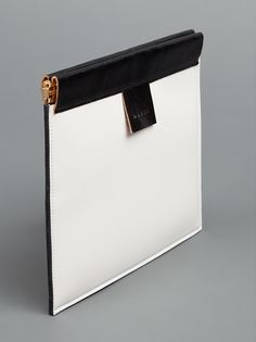 MARNI - two-tone patent clutch 2 imported from Paris, France