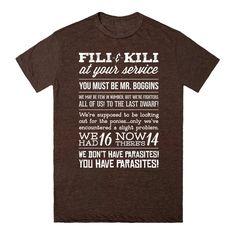 [The Hobbit] - Fili & Kili