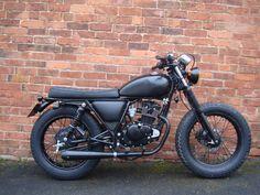 ILD 2 Mutt 125 Motorcycle, Scrambler Motorcycle, Moto Bike, Bobber, Custom Motorcycles, Custom Bikes, Suzuki Gn 125, Honda Cg125, Freedom Riders