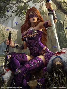 Warrior women fantasy art - Page 10 - Stormfront Fantasy Girl, Chica Fantasy, 3d Fantasy, Fantasy Kunst, Fantasy Warrior, Fantasy Women, Fantasy Artwork, Dark Fantasy, Fantasy Characters