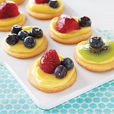 Mini Fruit Tartlets for Mother's Day brunch