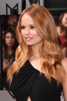 Debby Ryan Actress Debby Ryan attends the 2014 MTV Movie Awards at Nokia Theatre L. Live on April 2014 in Los Angeles, California. hair Debby Ryan Photos Photos: Arrivals at the MTV Movie Awards — Part 2 Ginger Hair Color, Strawberry Blonde Hair Color, Hair Color Pink, Strawberry Hair, Blonde Color, Color Red, Brown Blonde Hair, Dark Hair, Auburn Blonde Hair