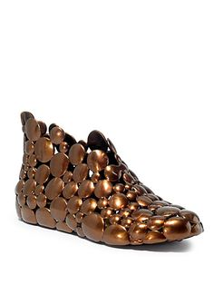 Melissa - Gaetano Pesce II Ankle Boots - Saks.com has them in copper and clear, but I'm hoping to find them in black.