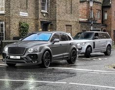 "1,092 Likes, 5 Comments - MANSORY (@mansory_uk) on Instagram: ""MANSORY Bentley Bentayga & Range Rover Vogue⚫️⚪️ @alistair_herrett"""