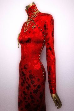 China: Through the Looking Glass Exhibit; Dress, John Galliano for House of Dior, Fall 1997