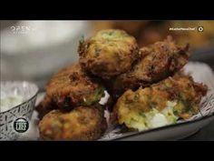 Παραδοσιακοί κολοκυθοκεφτέδες με Φέτα Χώτος. - YouTube Ethnic Recipes, Youtube, Food, Essen, Meals, Youtubers, Yemek, Youtube Movies, Eten