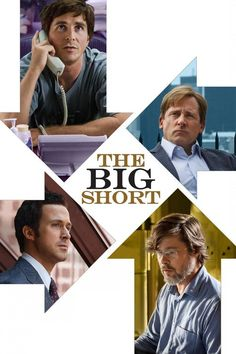 The first official film poster for director Adam McKay's new dark comedy The Big Short has been released. The poster features stars Ryan Gosling, Brad Pitt, Steve Carell and Christian Bale along with the tagline 'this is a true story'. Steve Carell, Christian Bale, Ryan Gosling, Brad Pitt, Movies To Watch, Good Movies, Awesome Movies, Movies Free, True Stories
