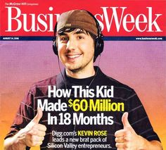 Kevin Rose Explains Embarrassing Businessweek Cover: Photog 'Promised Me He Wouldn't Use It'