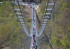 Hängebrücke Titan RT an der Rappbodetalsperre - Foto: Andreas Lehmberg