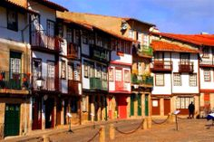 Traditional Houses in Guimarães.