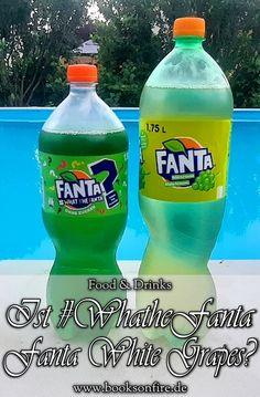 Fanta stellt uns mit #WhattheFanta vor die Frage, welche Geschmacksrichtung dieses grüne Getränk haben könnte. Ich habe da eine Theorie. Ob sie wohl stimmt? #foodblogger #fanta #bloggernetzwerk #blogger_de Fanta, Foodblogger, Fire, Drinks, Bottle, Books, Identical Twins, Theory, Tips