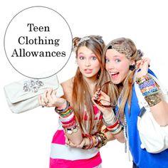 Teen Clothing Allowance Tips