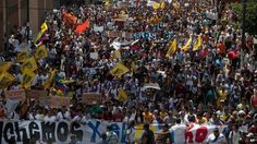 Yes, This is happening right now! Opposition protest in Caracas, Venezuela (12 Feb 2014)