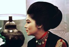 A young Imelda Marcos, former Philippine First Lady She Is Gorgeous, Young And Beautiful, President Of The Philippines, Philippines Culture, Ferdinand, Costume Design, My Style, Lady, Celebrities
