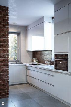 Aranżacje wnętrz - Kuchnia: Kuchnia, styl minimalistyczny - Dom-Art. Przeglądaj, dodawaj i zapisuj najlepsze zdjęcia, pomysły i inspiracje designerskie. W bazie mamy już prawie milion fotografii!