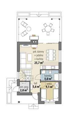 Alyson Modern House Floor Plans, Modern House Design, House Plans, Tiny House, Cabin, Flooring, How To Plan, Architecture, Small Homes