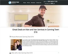 Man with Van Canning Town London