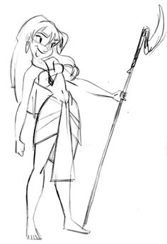 Kida from Disney's Atlantis - art by Steve. Here's what he said on Facebook about it: Throwback Thursday! I remember working at Disney animation studios at the time this film was in production. And, while I was busy working on another film, I loved the way Atlantis looked. Unfortunately, it never really got the attention I think it deserved. I've been thinking lately that I need to watch this film again. So, here's my morning warm up doodle for today. Kida!
