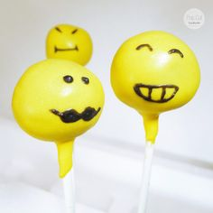 Cake Pop Smiley Cake Pops, Smileys, Desserts, Diy, Food, Cake Ideas, Birthday, Tailgate Desserts, Deserts