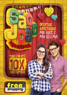 São João Free Shopping on Behance