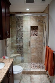 Quaint small bathroom remodel in Austin, TX. - On Time Baths