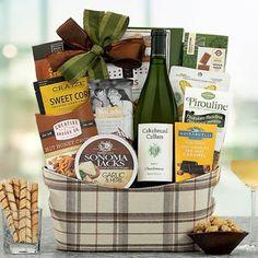 Wine Gift Baskets - Cakebread Wine Gift Basket