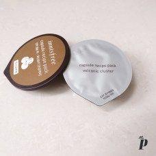 Innisfree Face mask Review of Capsule recipie Pack in Volcanic Scoria8 (1)