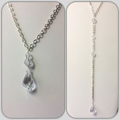 Elegant Back Necklace....is a gorgeous piece created with swarovski crystals that will look incredible with a bare or low backed wedding dress!