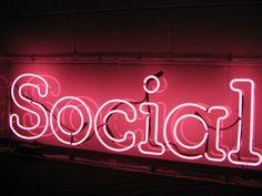 social-neon-sign