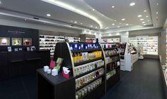 Mobilier cosmétiques - parfumerie - Passion Beauté Restaurants, Spa, Passion, Perfume Store, Hairstyle, Restaurant