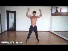 Jordan Yeoh Extreme Fat Burning workout - YouTube