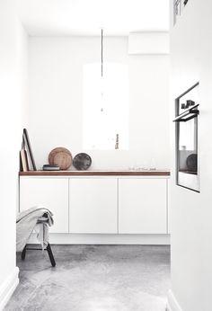 Kitchen @ Vedbaek House IV by Norm.Architects.