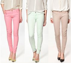 Love me some colored pants