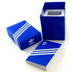 Adidas Watch Packaging, the branding of adidas is timeless.