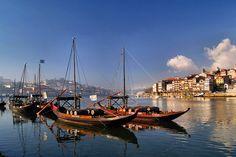 Barcos Rabelos: tão importantes quanto o próprio Vinho do Porto