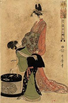 Kitagawa Utamaro (c.1753 -1806). Ukiyo-e