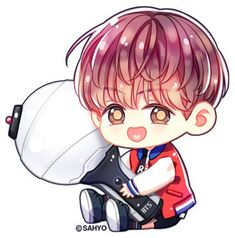 Read from the story FanArt BTS ❤ by (J-hope ❣️✨) with reads. Bts Chibi, Anime Chibi, Bts Jungkook, Jungkook Fanart, Kpop Fanart, Namjoon, Taehyung, Jungkook Spring Day, Bts Spring Day