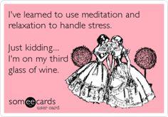 wine humor advise