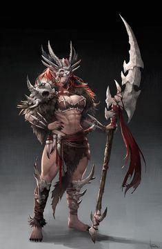 nsfw anime and fantasy girl - — source - Fantasy Female Warrior, Fantasy Women, Fantasy Girl, Woman Warrior, Female Armor, Fantasy Character Design, Character Design Inspiration, Character Art, Character Ideas
