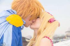 Kaito lucia cosplay kiss