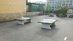 Pingpongtafel Groen bij St Gregory's School in Odd Down bath