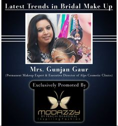 Latest trends in bridal make up  A bride always expects to look beautiful and go with the trendy bridal makeup on her wedding day. This age of digital photography demands a makeup which is not only appealing but it should be high-definition too. Airbrush makeup is one of them to apply while doing a makeup. The best choice for bridal makeup has to be....See More  Visit : https://www.facebook.com/modazzy/photos/a.583877135054192.1073741829.571316669643572/894161604025742/?type=3&theater