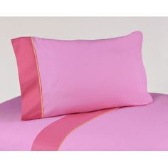 Sweet Jojo Designs- -Butterfly Pink and Orange Collection Sheet Set